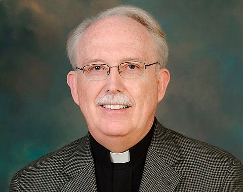 Father Terence Fleming will retire in June.