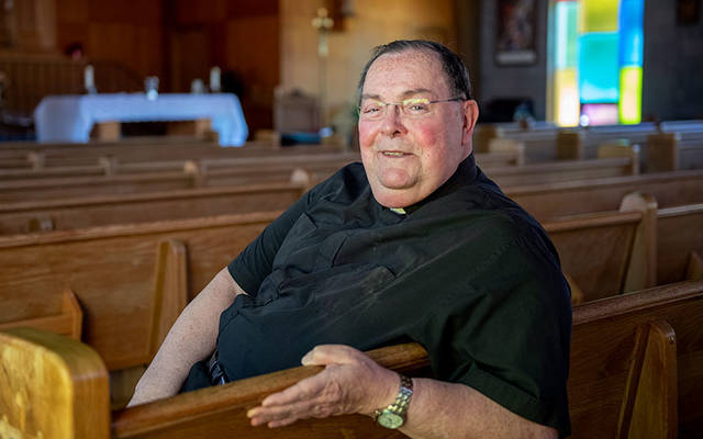 <p>Father William Darling has retired after 47 years as a priest.
