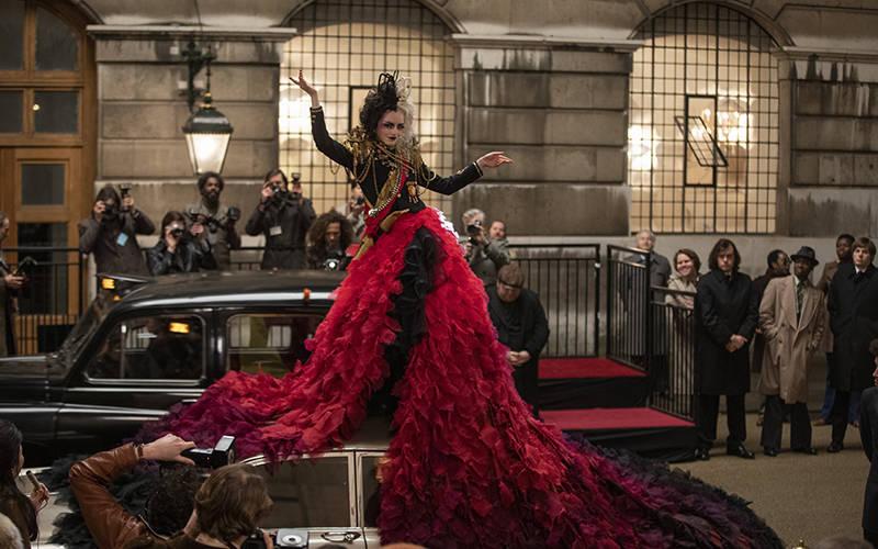 """<p> Emma Stone stars in a scene from the movie """"Cruella."""""""