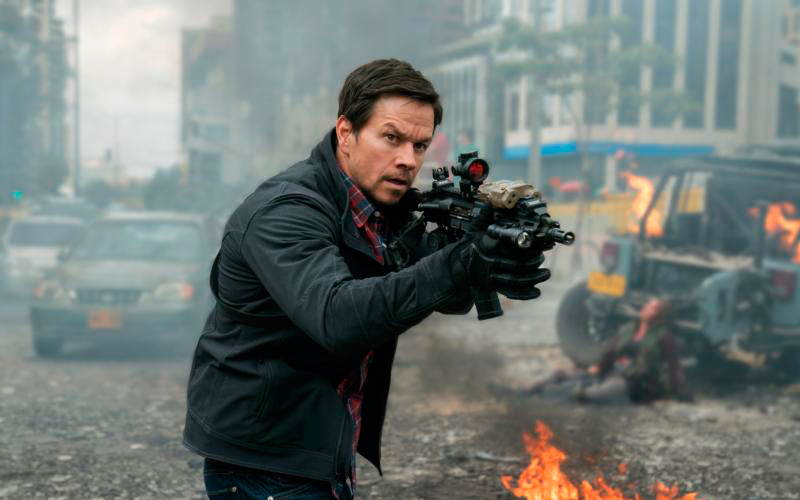 "Mark Wahlberg stars in a scene from the movie ""Mile 22."" (CNS photo by STX)"