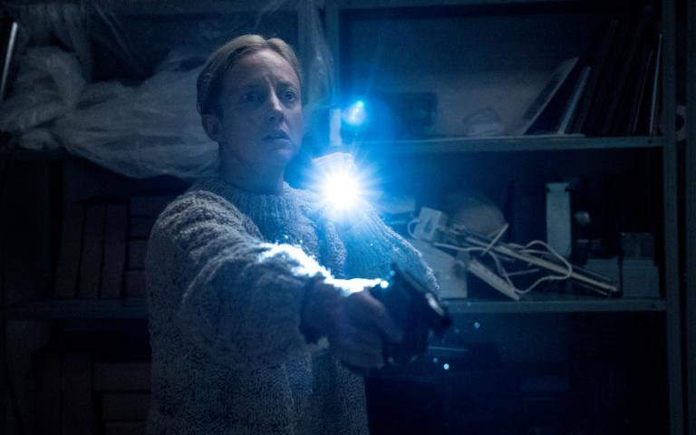 """Andrea Riseborough in a scene from the movie """"The Grudge."""""""