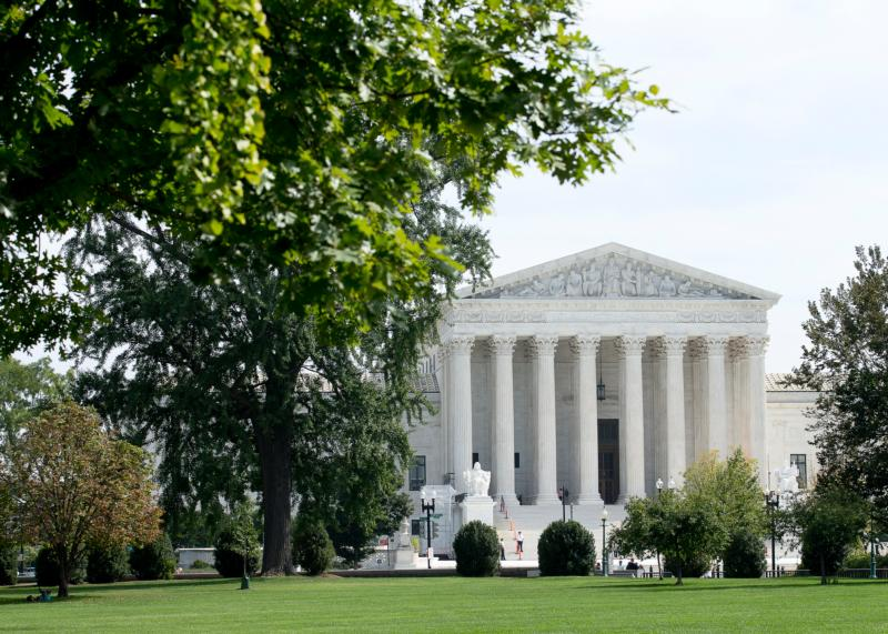 The U.S. Supreme Court in Washington is seen in this 2017 file photo.