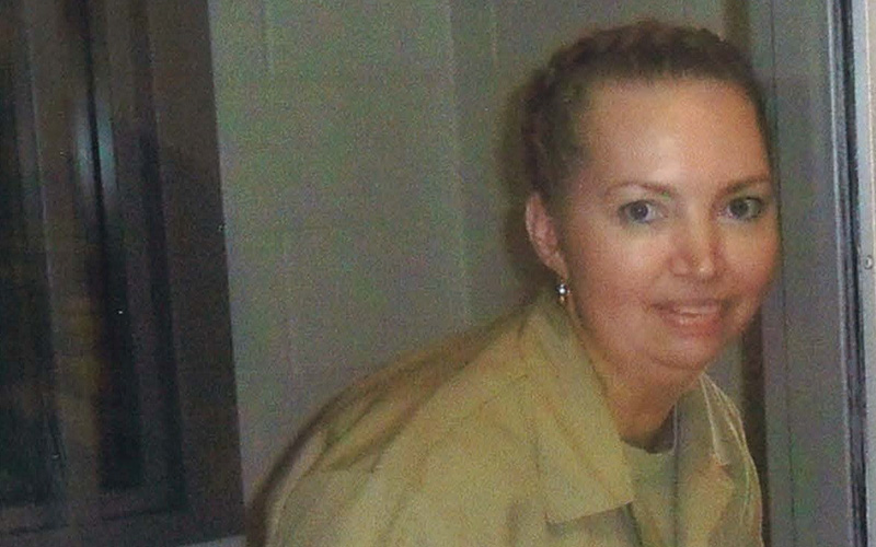 Lisa Montgomery, the only woman on federal death row, is seen in this undated photo inside the Federal Medical Center in Fort Worth, Texas.