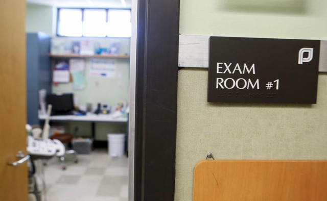 An exam room at the Planned Parenthood South Austin Health Center is seen in Austin, Texas, June 27.
