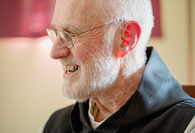 Brother Anthony Weber, OCSO, left for the Abbey of the Genesee shortly after graduating from Rochester's Aquinas Institute in 1956, and he's been there ever since. Scroll to the bottom of this page to learn more about Brother Anthony's journey.