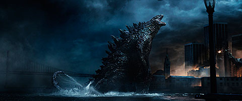 """This is  a scene from the movie """"Godzilla."""" The Catholic News Service classification is A-III -- adults. The Motion Picture Association of America rating is PG-13 -- parents strongly cautioned.  Some material may be inappropriate for children under 13."""