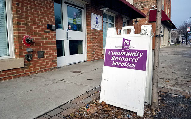 <p>Catholic Family Center&rsquo;s Community Resource Services in Rochester offers such emergency services as a food pantry as well as financial assistance with eviction prevention, housing and utilities. (File photo)  </p>