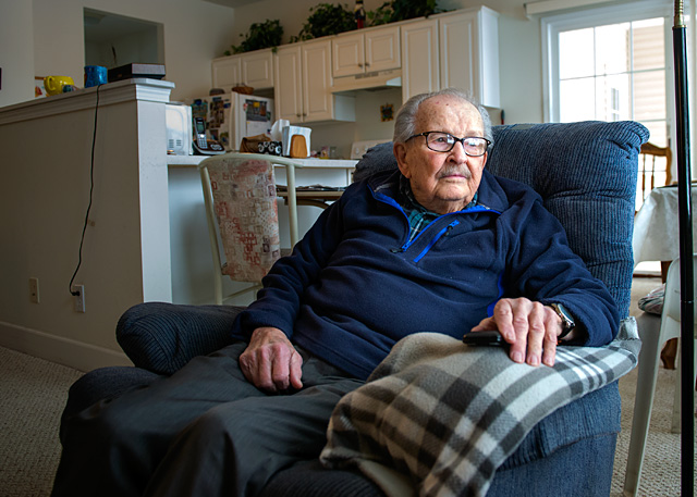 Stanley Hwalek is a World War II veteran who was present at the attack on Pearl Harbor on Dec. 7, 1941.