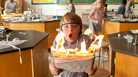 """Ed Oxenbould stars in a scene from the movie """"Alexander and the Terrible, Horrible, No Good, Very Bad Day."""" The Catholic News Service classification is A-II -- adults and adolescents. The Motion Picture Association of America rating is PG -- parental guidance suggested. Some material may not be suitable for children."""
