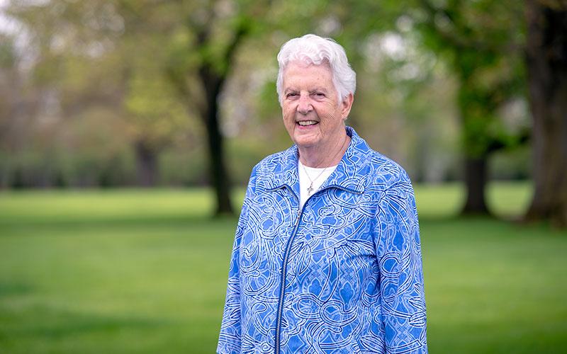 Sister Mary Ann Binsack is celebrating her 60th jubilee.