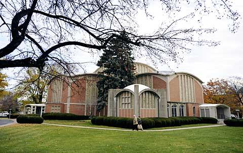 The large, sprawling church opened on St. Paul Blvd. in 1965.