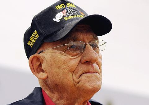 World War II veteran Donald Pero.