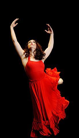 Life Ballet dancer Alexis Gaetano performs.