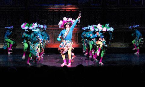 """The Ballet Folklórico de México performs """"Los Matachines."""""""