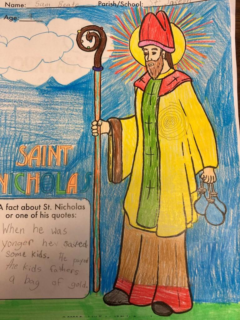 Sam, 9, St. Joseph School, Penfield