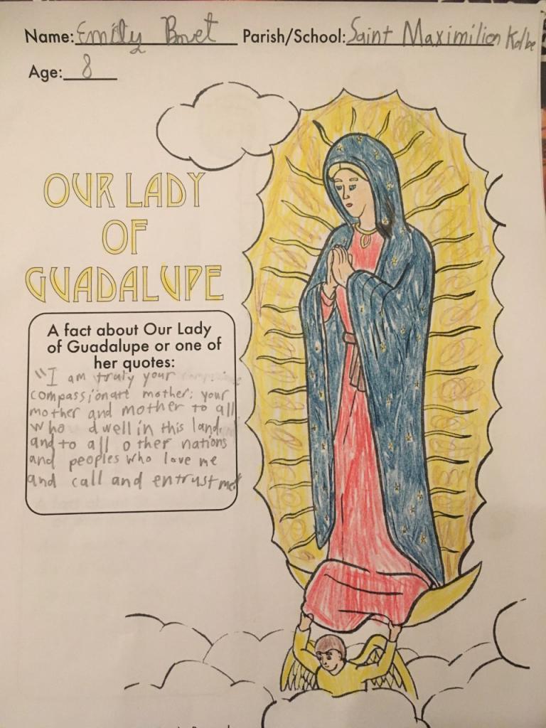 Emily, 8, St. Maximilian Kolbe, Ontario