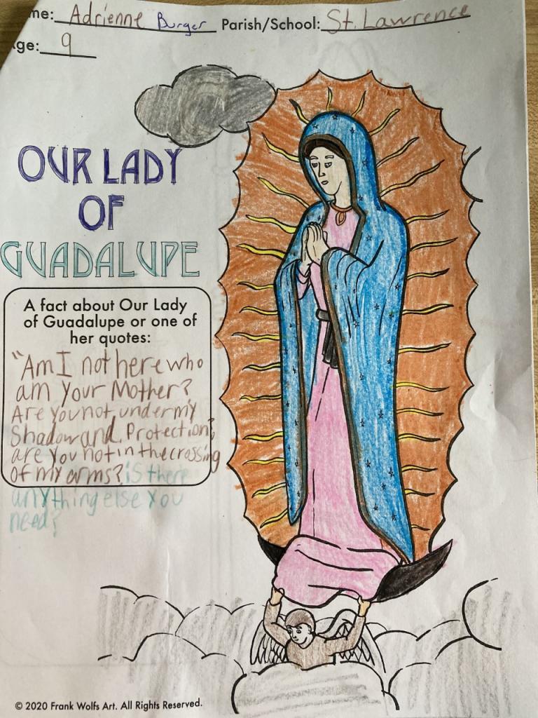 Adrienne, 9, St. Lawrence School, Greece