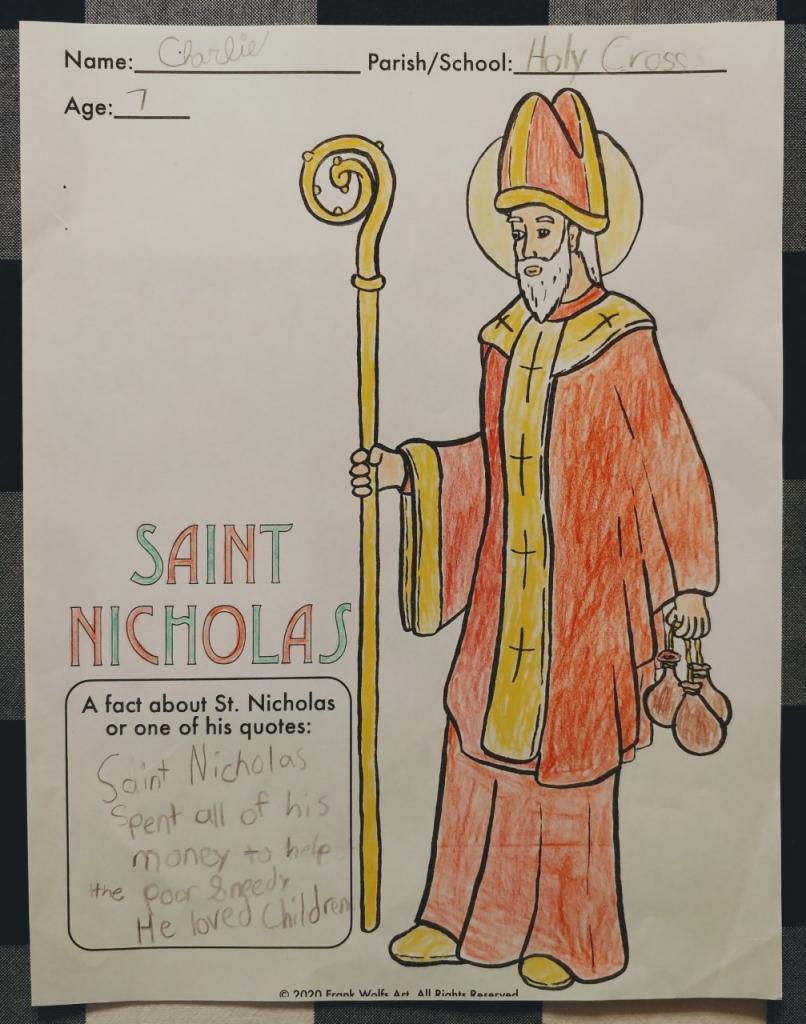 Charlie, 7, Holy Cross, Rochester