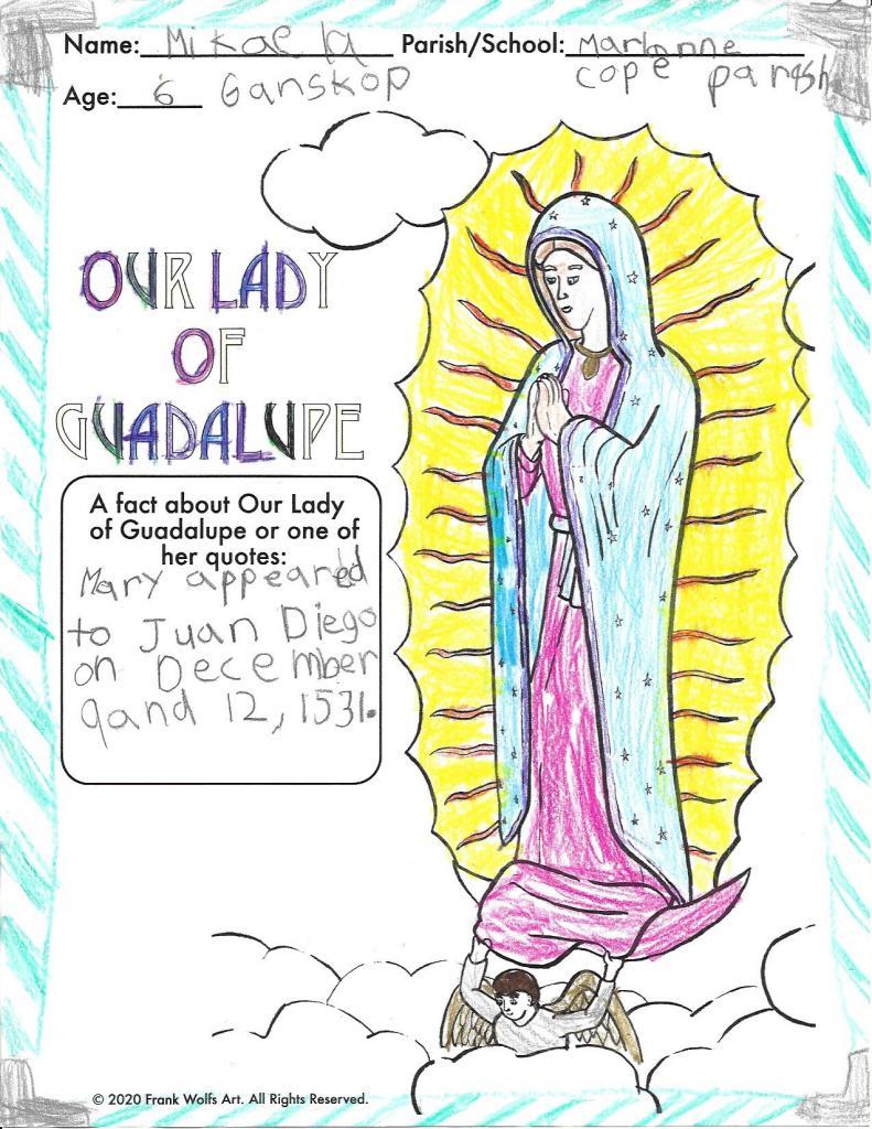 Mikaela, 6, St. Marianne Cope Parish, Henrietta
