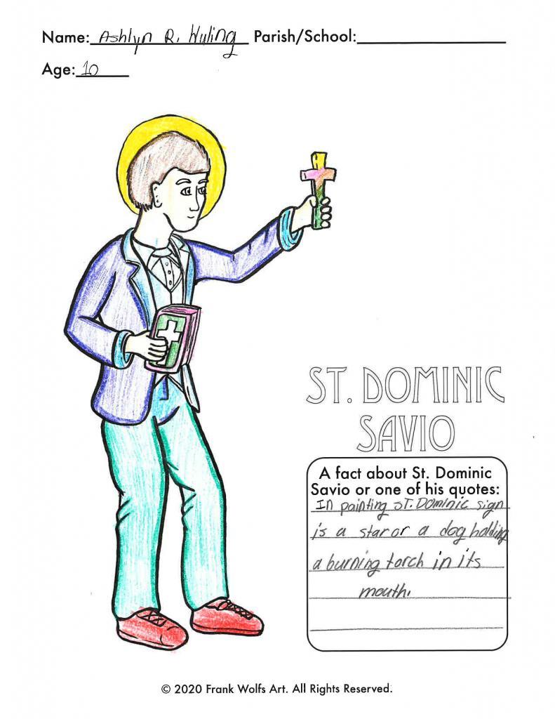 Ashlyn, 10, St. Francis-St. Stephen School, Geneva