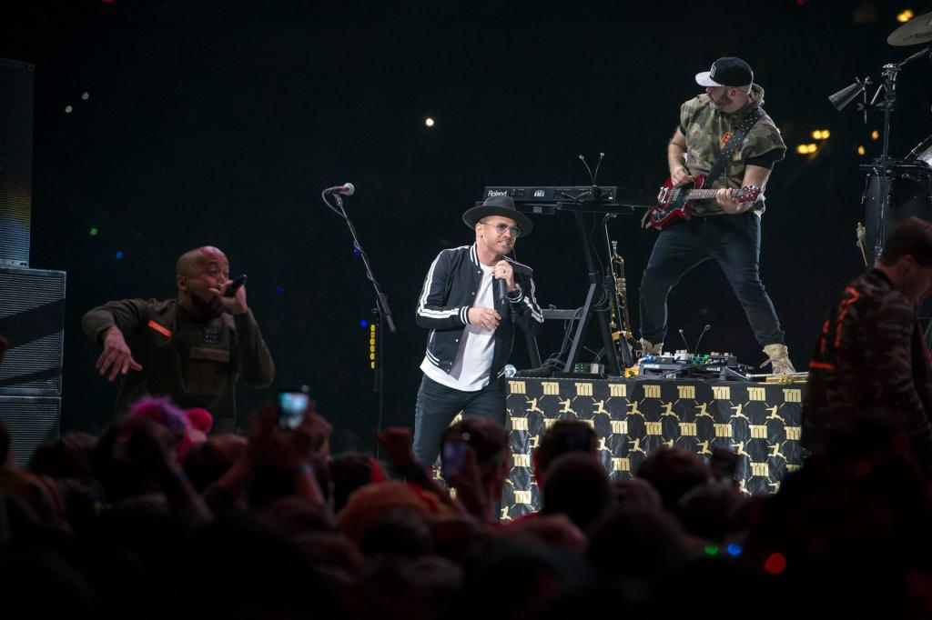 TobyMac performs on the main stage during the opening ceremony Nov. 16.