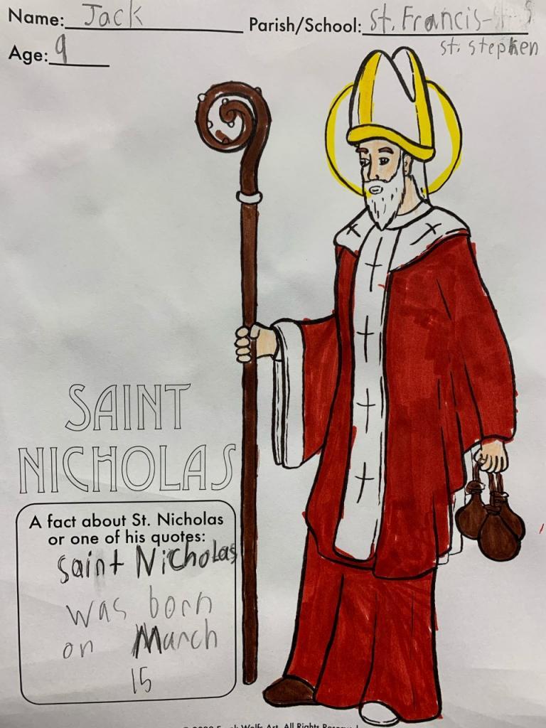 Jack, 9, St. Francis-St. Stephen School, Geneva