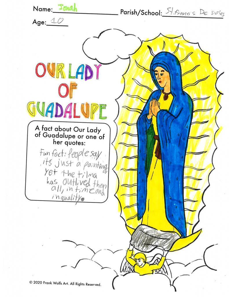 Jonah, 10, St. Francis-St. Stephen School, Geneva