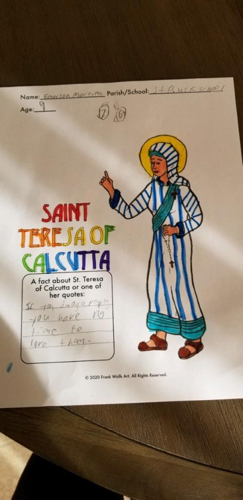 Emerson, 9, St. Pius Tenth School, Chili