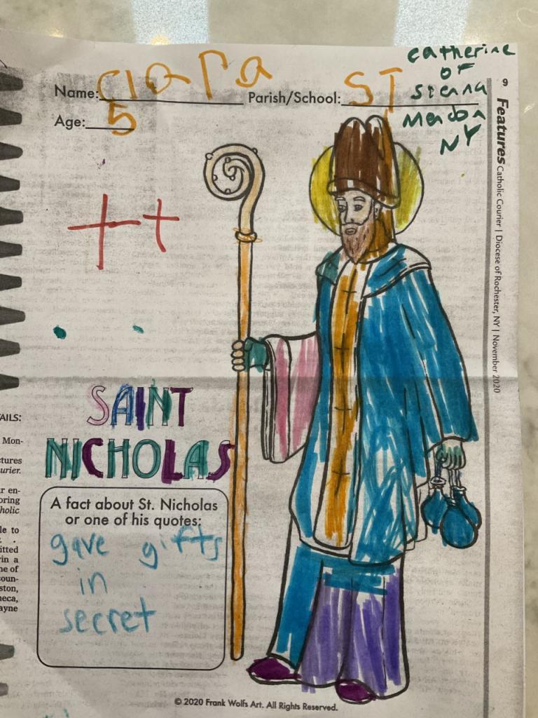 Clara, 5, St. Catherine of Siena, Mendon