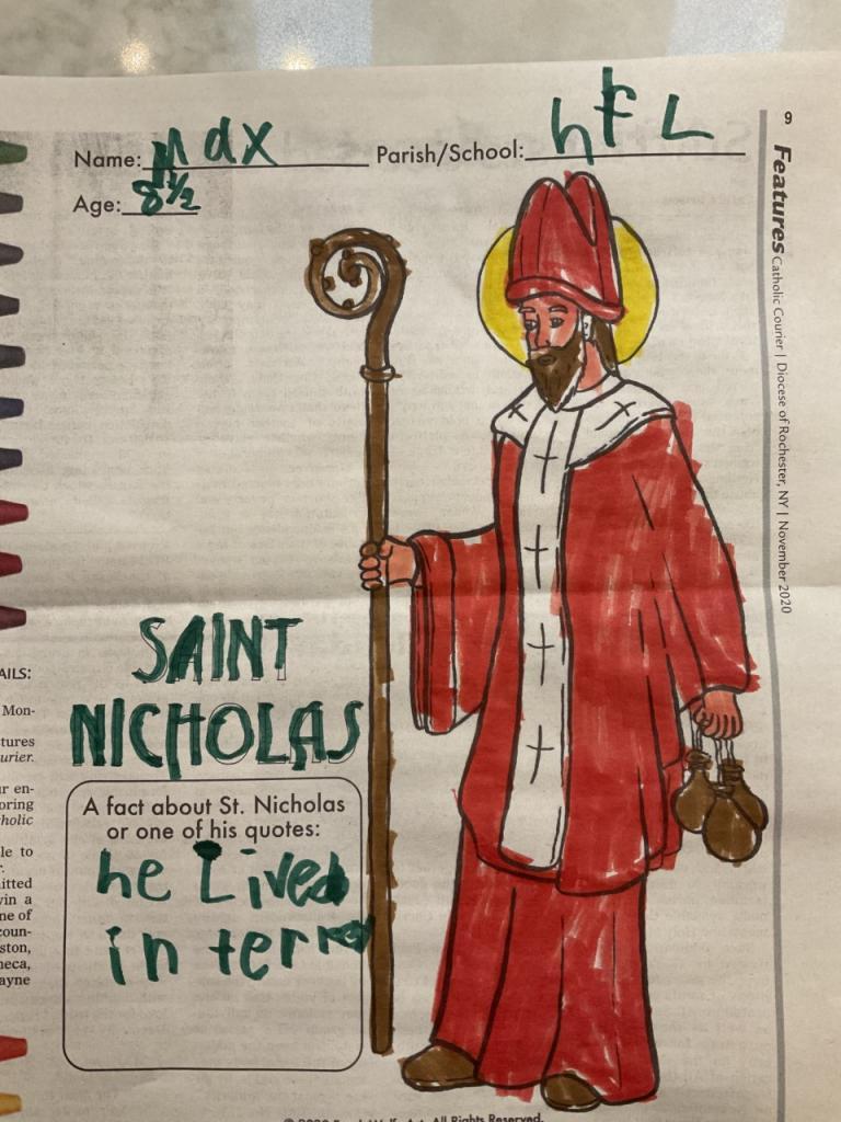 Max, 8, St. Catherine of Siena, Mendon