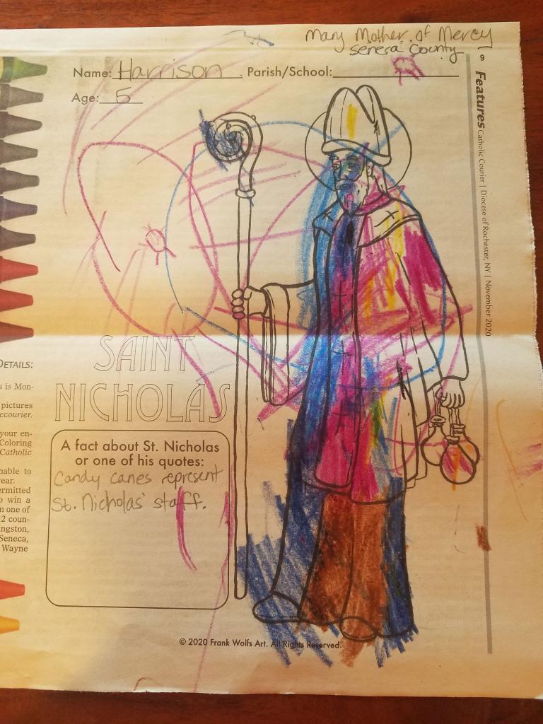 Harrison, 5, Mary Mother of Mercy, Seneca County