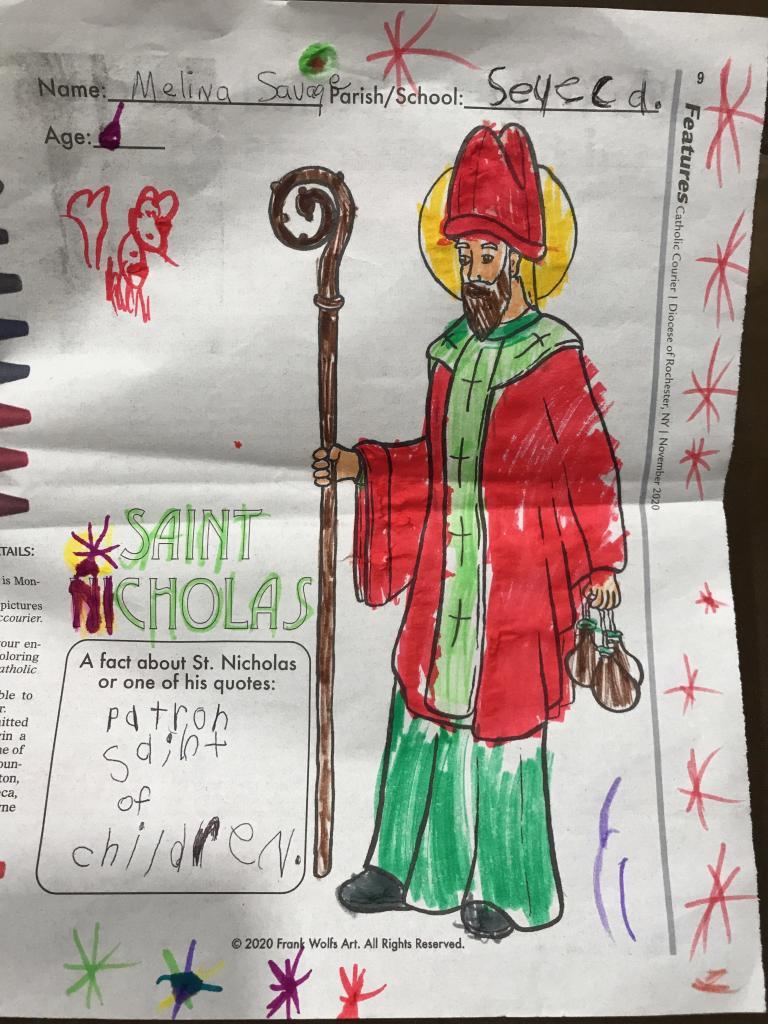 Melina, 6, St. Kateri Parish, Irondequoit