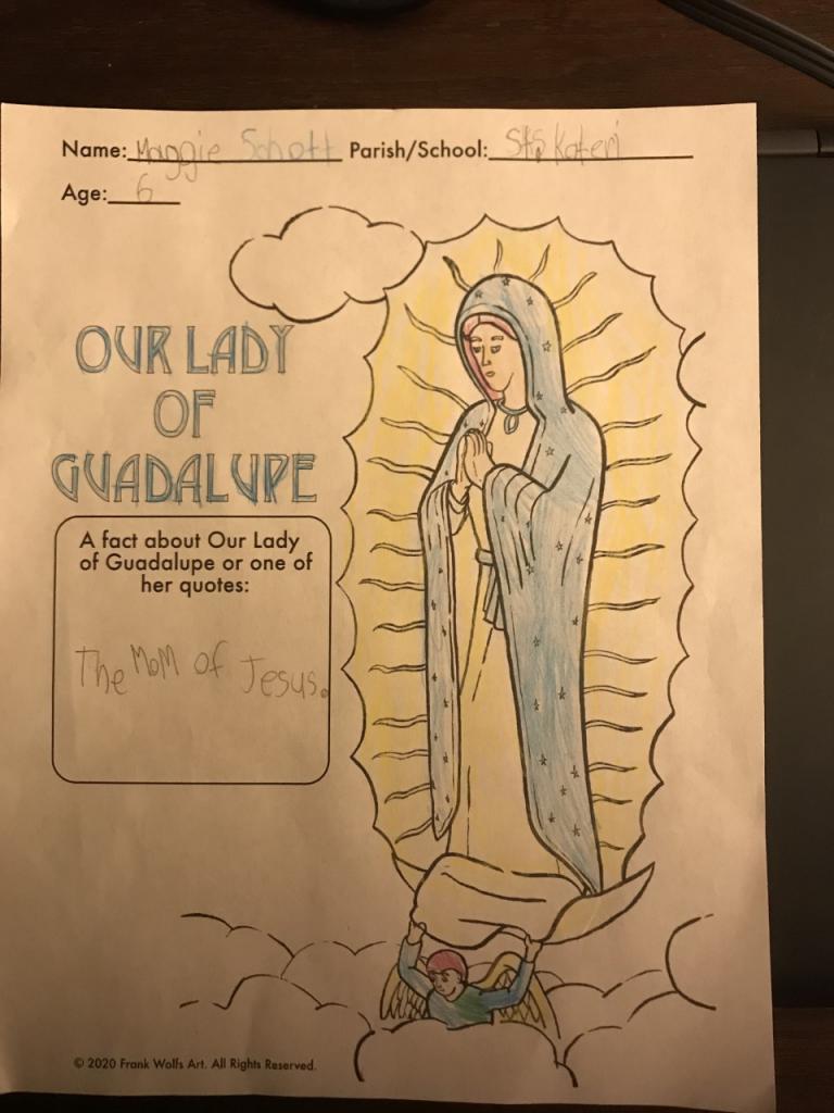 Maggie S., 6, St. Kateri School & Parish