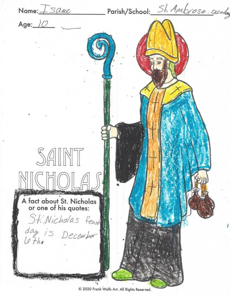 Issac, 10, St. Ambrose Academy, Rochester