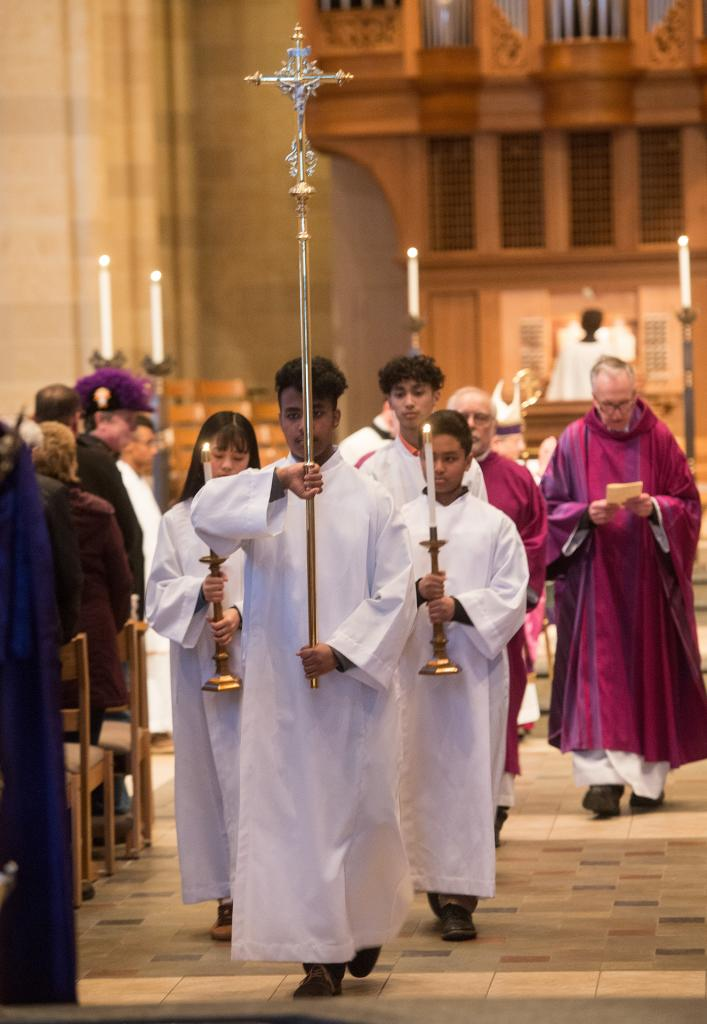 The vigil Mass March 3 at Sacred Heart Cathedral commemorated the Diocese of Rochester's sesquicentennial.