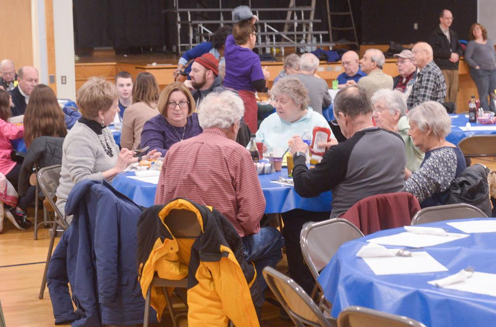 The March 22 Lenten fish dinner at St. Rita Church in Webster.