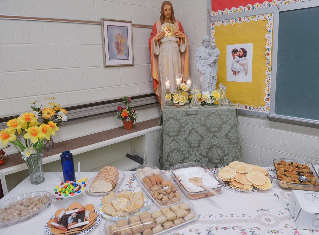 The St. Joseph's Day celebration at St. John the Evangelist Church in Spencerport March 19.