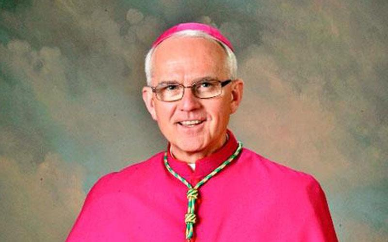 Bishop Terry R. LaValley was ordained and installed as 14th Bishop of the Diocese of Ogdensburg in 2010. (Photo courtesy of Diocese of Ogdensburg) .