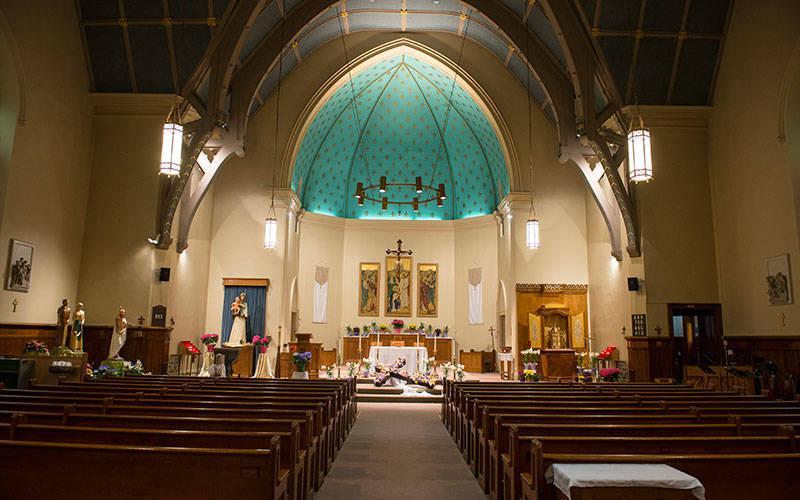<p>Holy Apostles Church (Courier file photo)  </p>