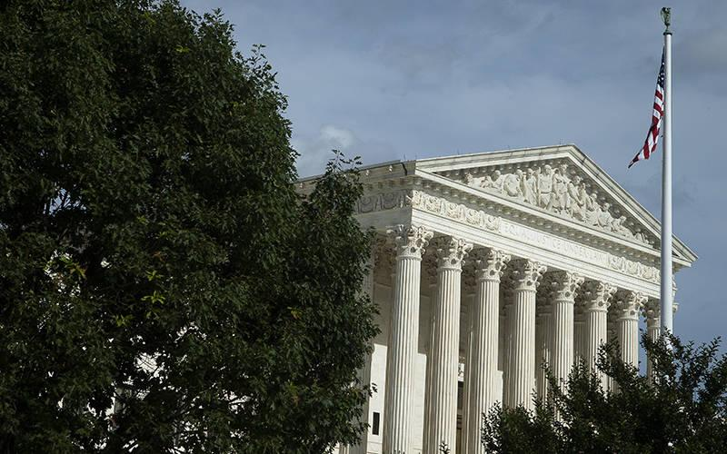 <p>The U.S. Supreme Court is seen in Washington June 13, 2021. (CNS photo by Tyler Orsburn)  </p>