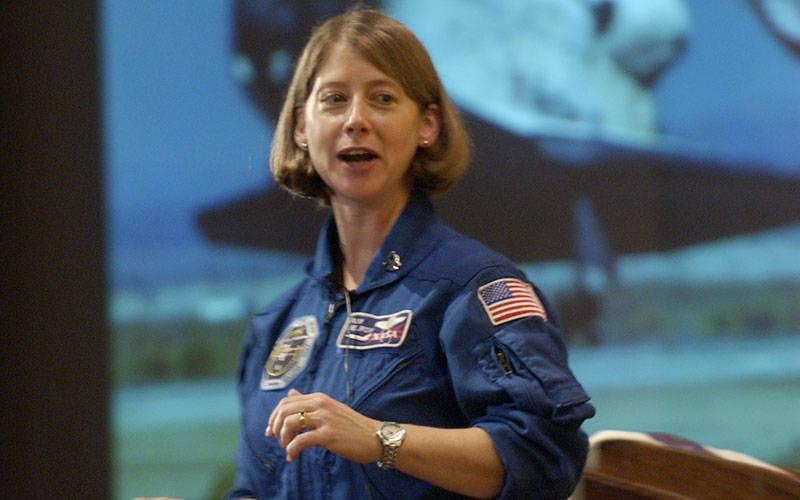 <p>Astronaut Pamela Melroy, a graduate of Bishop Kearney High School in Irondequoit, is seen in 2004. She was recently named deputy administrator for NASA. (Courier file photo)  </p>