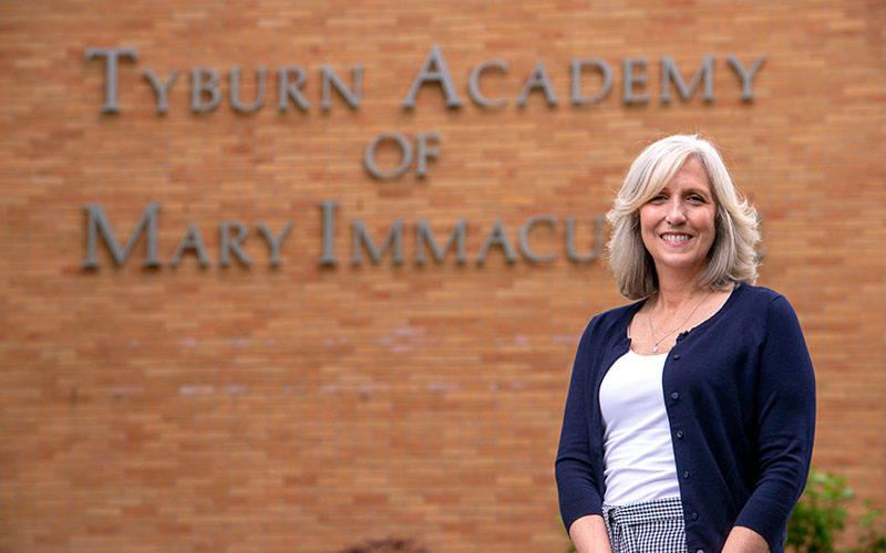 <p>Maura DelFavero left her position July 1 after five years as principal at Tyburn Academy in Auburn. (Courier photo by Jeff Witherow)  </p>
