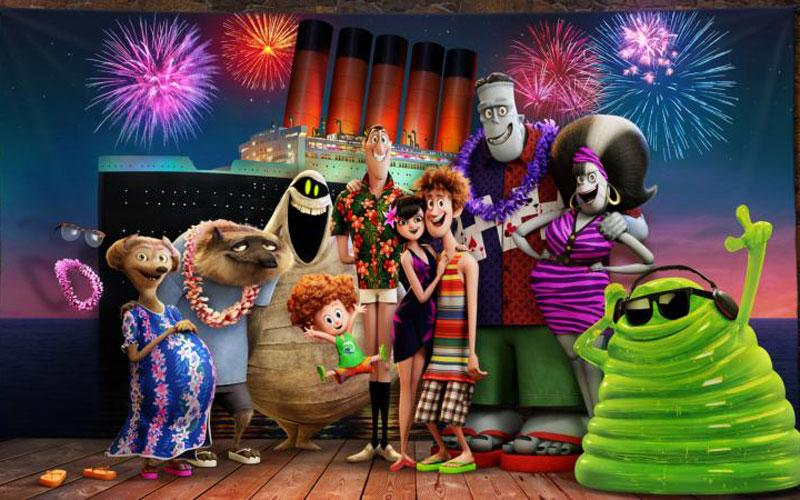 """Animated characters appear in the movie """"Hotel Transylvania 3: Summer Vacation."""" The Catholic News Service classification is A-II -- adults and adolescents. The Motion Picture Association of America rating is PG -- parental guidance suggested. Some material may not be suitable for children. (CNS photo by Sony)"""