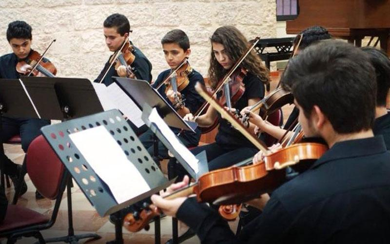 Members of the Franciscan-run Magnificat Institute Jerusalem perform in an undated photo. The group performed July 12-14 in such distinguished venues as the Basilica of the National Shrine of the Assumption of the Blessed Virgin Mary in Baltimore and the main church of the Franciscan Monastery of the Holy Land in Washington. (CNS photo courtesy Magnificat Institute Jerusalem)