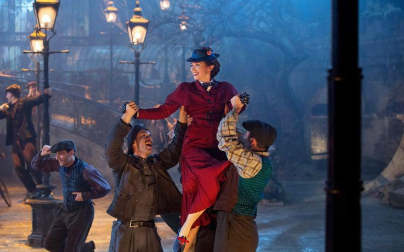 "Emily Blunt stars in a scene from the movie ""Mary Poppins Returns,"" a sequel to the 1964 film ""Mary Poppins."" The Catholic News Service classification is A-I -- general patronage. Not otherwise rated. The Motion Picture Association of America rating is PG -- parental guidance suggested. Some material may not be suitable for children. (CNS photo by Jay Maidment/courtesy Disney)"
