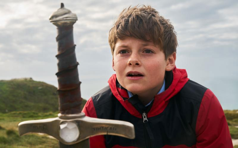 "Louis Ashbourne Serkis stars in a scene from the movie ""The Kid Who Would Be King."" The Catholic News Service classification is A-II – adults and adolescents. The Motion Picture Association of America rating is PG -- parental guidance suggested. Some material may not be suitable for children. (CNS photo by Fox)"
