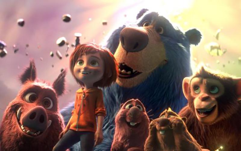 "Animated characters are seen in the movie ""Wonder Park."" (CNS photo by Paramount Animation)"