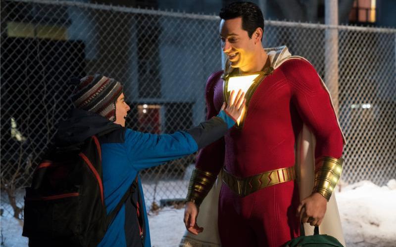 Foster kid turns superhero in the DC Comics film 'Shazam