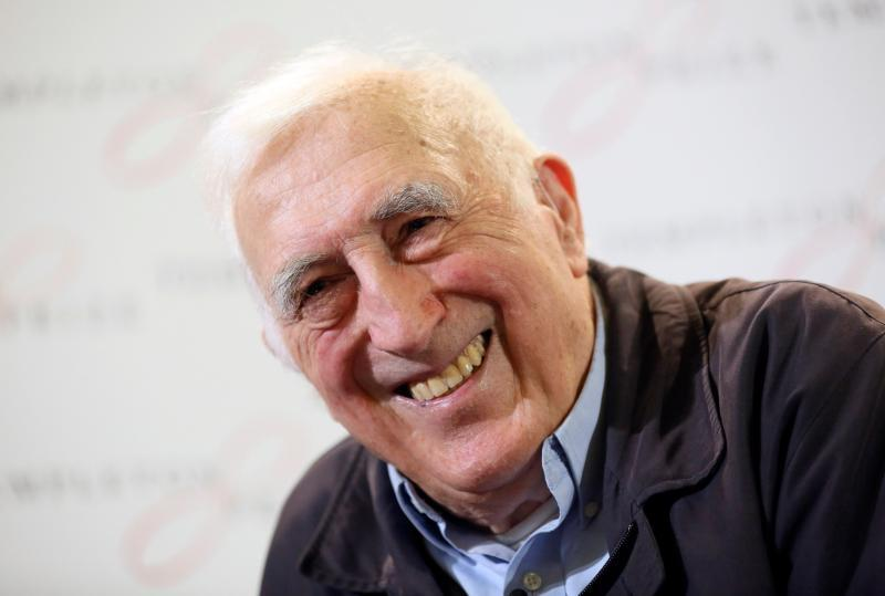 Jean Vanier is pictured in a March 11, 2015, photo.