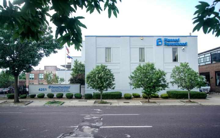 The Planned Parenthood facility is seen in St. Louis May 28, 2019. (CNS photo by Lawrence Bryant/Reuters)